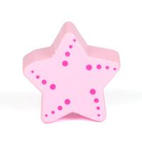 Motivpärla sjöstjärna, ljusrosa – utförsäljning