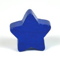 Motivpärla stjärna, mörkblå
