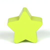 Motivpärla stjärna, lime
