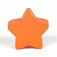 Motivpärla stjärna, orange