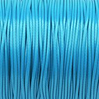 Vaxat polyestersnöre, himmelsblå, 1,5mm