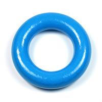Liten träring utan hål, blå