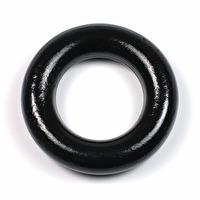 Liten träring utan hål, svart