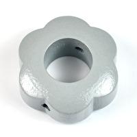 Motivpärla ringblomma, grå