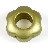 Motivpärla ringblomma, guld