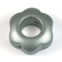 Motivpärla ringblomma, silver