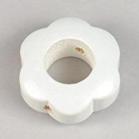 Motivpärla ringblomma, vit