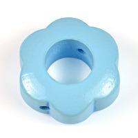 Motivpärla ringblomma, ljusblå