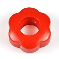 Motivpärla ringblomma, röd
