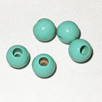 Säkerhetspärlor mint, 12mm