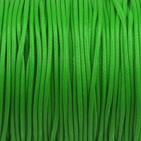 Vaxat polyestersnöre, grön, 1,5mm