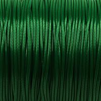 Vaxat polyestersnöre, mörkgrön, 1,5mm