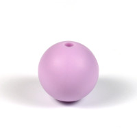 Silikonpärlor 15mm, lavendel