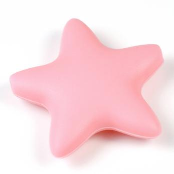 Stor silikonstjärna, ljusrosa