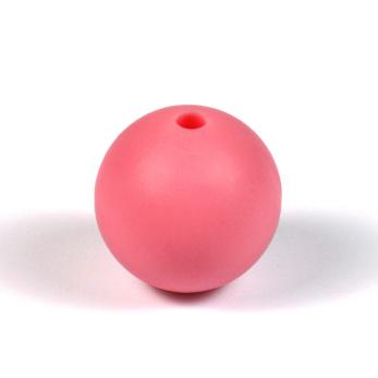 Silikonpärlor 20mm, vattenmelon