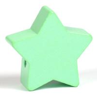Motivpärla stor stjärna, mint
