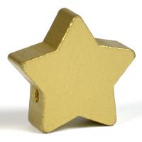 Motivpärla stor stjärna, guld