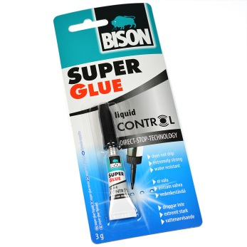 BISON Super Glue Control, 3g