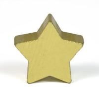 Motivpärla stjärna, guld