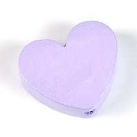 Motivpärla hjärta, lavendel
