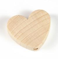 Motivpärla hjärta, obehandlad