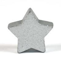 Motivpärla stjärna, silver