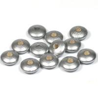 Trälinser silver