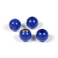 Säkerhetspärlor mörkblå, 10mm