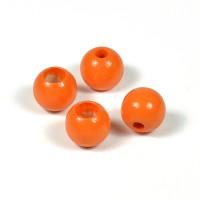 Säkerhetspärlor orange, 10mm