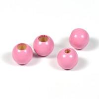 Säkerhetspärlor rosa, 10mm