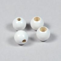 Säkerhetspärlor vit, 10mm