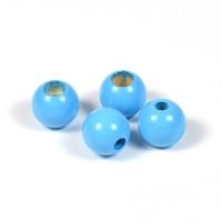 Säkerhetspärlor himmelsblå, 10mm