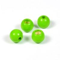 Säkerhetspärlor ljusgrön, 10mm