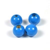 Säkerhetspärlor blå, 12mm