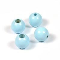 Säkerhetspärlor ljusblå, 12mm