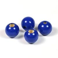 Säkerhetspärlor mörkblå, 12mm