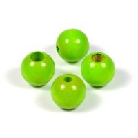 Säkerhetspärlor ljusgrön, 12mm