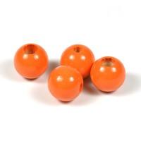 Säkerhetspärlor orange, 12mm