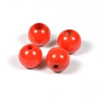 Säkerhetspärlor röd, 12mm