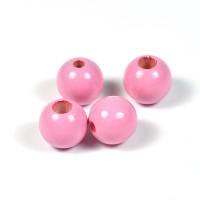 Säkerhetspärlor rosa, 12mm