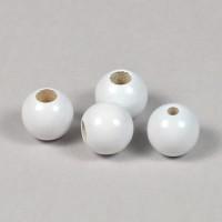 Säkerhetspärlor vit, 12mm