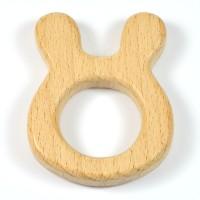 Naturlig träfigur, kanin
