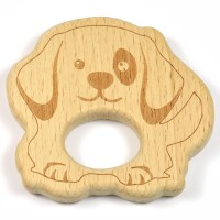 Naturlig träfigur, hund