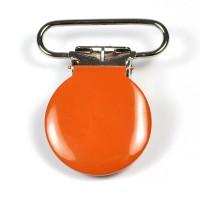 Metallclips rund, orange