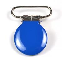 Metallclips rund, blå