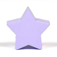Motivpärla stjärna, lavendel
