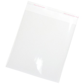 Transparenta plastpåsar, 18x27cm