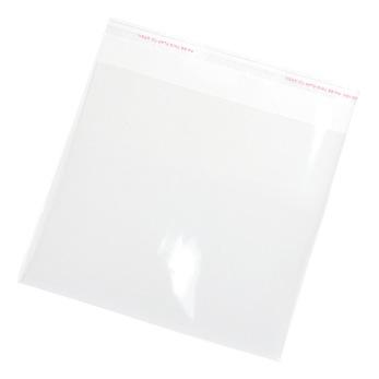 Transparenta plastpåsar, 18x18cm