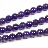 Ametist pärlor, 6mm