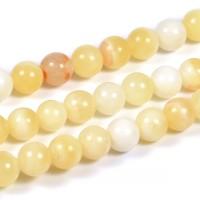 Jade pärlor, honey, 6mm